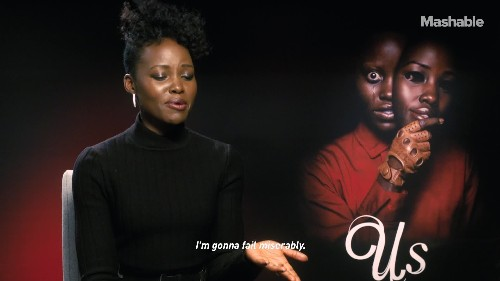 'Us' stars Lupita Nyong'o and Winston Duke put their horror movie knowledge to the test