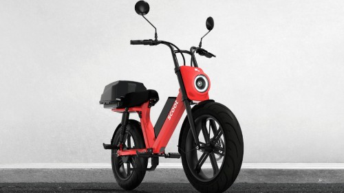 E-scooter company Scoot has a moped now