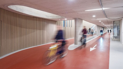 The world's largest bike garage just got even bigger