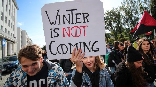 The best signs from the global climate strike