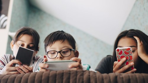 A majority of kids have smartphones by middle school, study finds