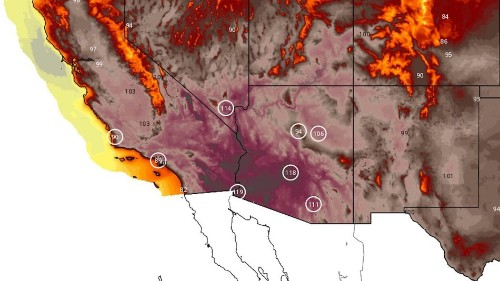 Brutal and prolonged heat wave about to hit the Southwest