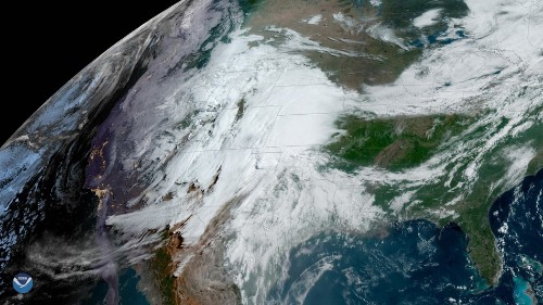 From space, powerful thunderstorms look like boiling water