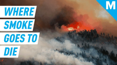 Where does smoke go to die in the atmosphere?