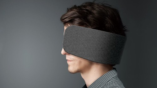 Lean into your menial workhorse job with Panasonic's human blinders