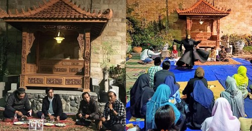 Indonesian Buddhist temple hosts a book discussion on Prophet Muhammad - Culture