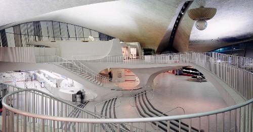 The old TWA flight center was a shrine to minimalist design