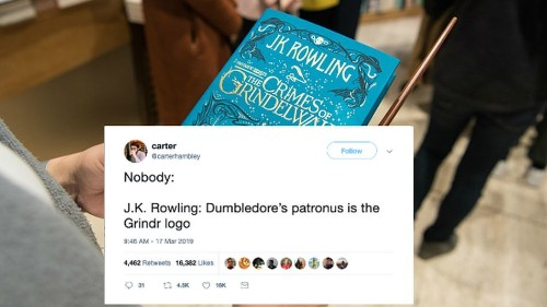 J.K. Rowling's latest take on Dumbledore's love life has sparked some very sexual memes