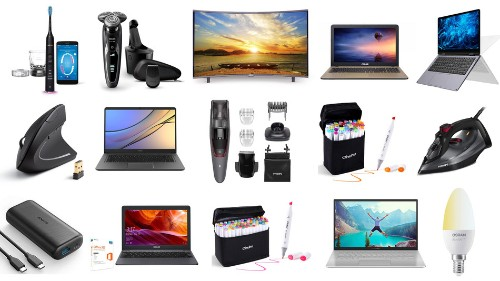 Samsung TVs, ASUS laptops, Philips electric toothbrushes, Anker portable chargers, and more on sale for Aug. 19 in the UK