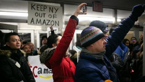 Amazon cancels New York HQ2 plans
