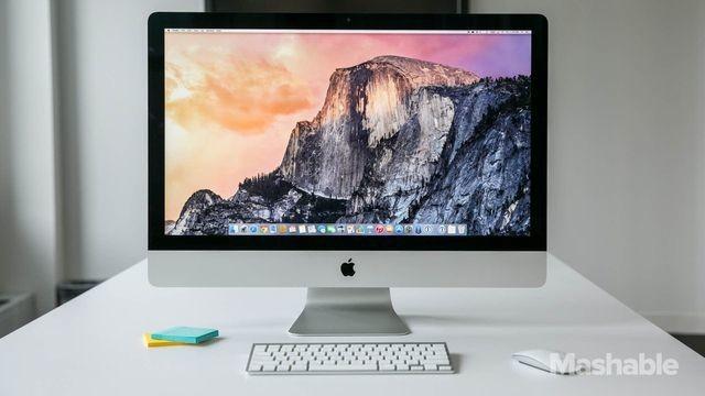 Apple Retina 5K iMac Has a Screen That Can Stop Traffic