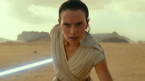 New 'Rise of Skywalker' Footage Debuts At D23 — And There's A Big Rey Surprise