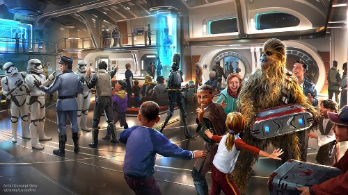 Disney unveils new details about Galactic Starcruiser, Disney's Star Wars hotel