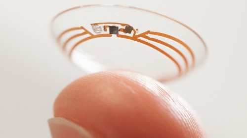 Samsung patents smart contact lenses with a built-in camera