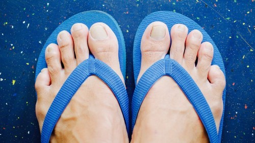 British people have very strong opinions when it comes to men in flip flops