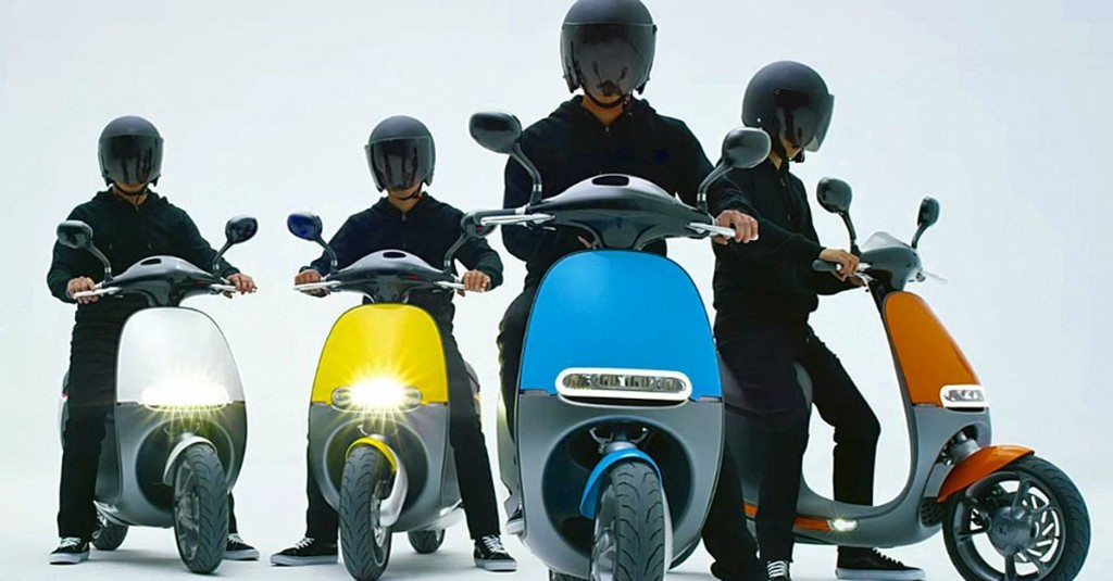 Gogoro smart scooter launches in Taiwan, adds new models