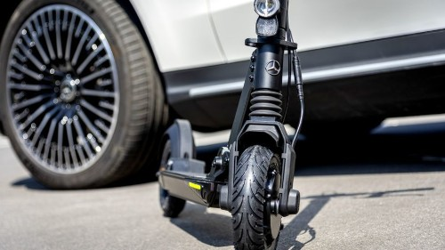 Mercedes is the latest carmaker that wants in on e-scooters
