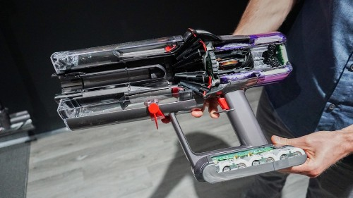 Dyson's new V11 Torque Drive cordless vacuum is sleek, powerful, and surprisingly fun