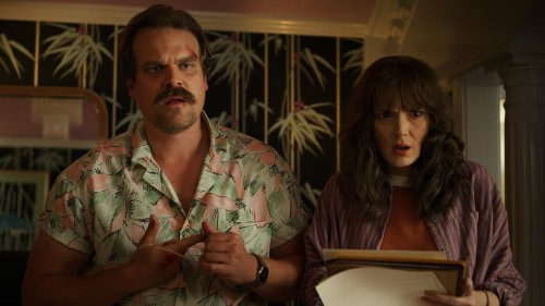 David Harbour and Winona Ryder react to that shocking 'Stranger Things 3' finale
