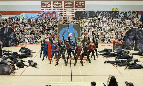 You'll Love This High School's 'Avengers: Infinity War' and 'Endgame' Themed Homecoming Assembly 3000!