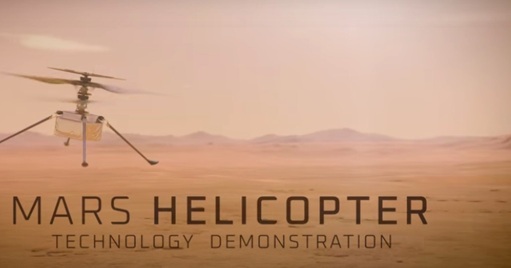 NASA reveals its Mars helicopter name with ingenious hype video