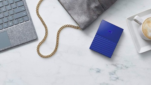 WD My Passport portable hard drives on sale at Amazon for under £40
