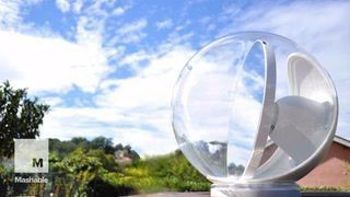 Crystal ball-like robot will fill your home with sunlight