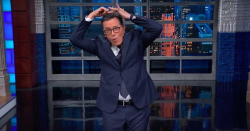 Stephen Colbert mocks Trump's weird claim that he knows all Greek Americans