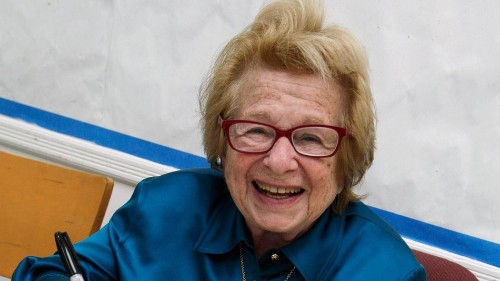 Dr. Ruth's tips for jolly sex during the holiday season