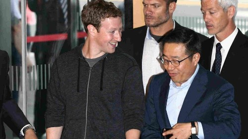 Zuckerberg Tours Samsung: Is a Facebook Phone Coming?