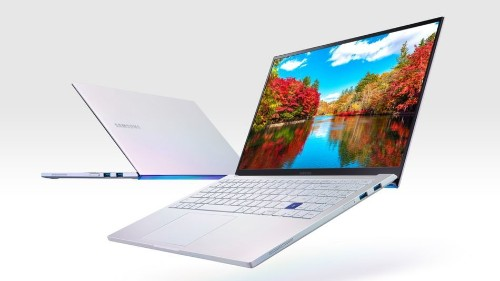 Samsung's new Galaxy Book laptops have wireless charging touchpads