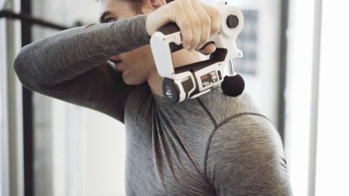 This super trendy massage gun is on sale for over 50% off