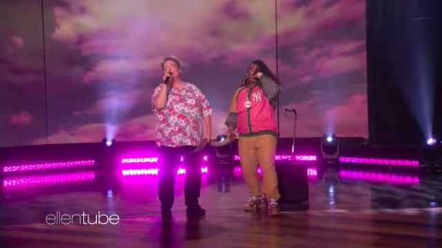 Missy Elliott and her 'funky white sister' rapped together and we're crying