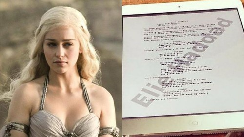 'Game of Thrones' actor accidentally leaks script page on Instagram