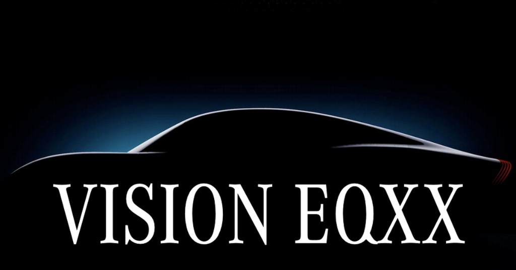 Mercedes-Benz teases Vision EQXX electric car with a 750-mile range