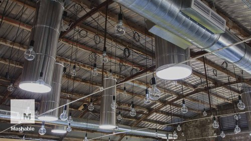 These tubes bring natural light indoors and help reduce energy costs