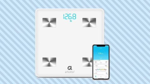 Arboleaf Bluetooth scale is on sale for less than $30 on Amazon