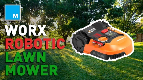 The Worx Landroid Cordless Robotic Lawn Mower