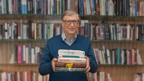 Here are the 5 books you need to read this summer, according to Bill Gates