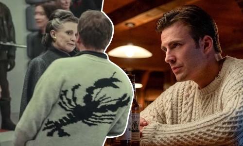 Chris Evans' Amazing Sweaters Inspires #KnivesOutChallenge, Rian Johnson Aces It - Culture