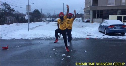 Snow-shoveling dancers will make you want to move to Canada, now