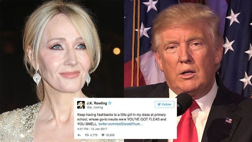 14 times J.K. Rowling absolutely annihilated Donald Trump on Twitter
