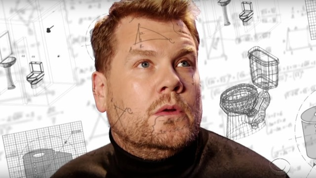 James Corden's Theranos parody is gleefully gross