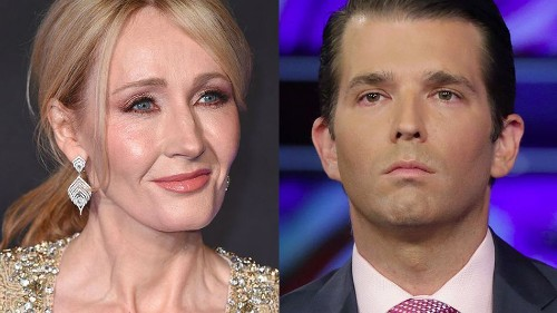 J.K. Rowling responds to Donald Trump Jr.'s tweet about socialism