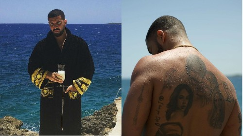 Drake and his glorious robe had a great weekend