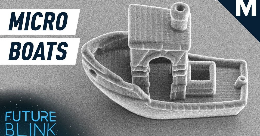 Introducing...a very tiny, 3D-printed micro boat