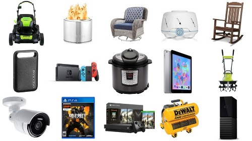 WD My Book, Instant Pot, Greenworks outdoor power equipment, and more for May 19