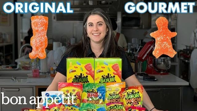 Claire from 'Bon Appetit' takes on her hardest challenge yet: Gourmet Sour Patch Kids