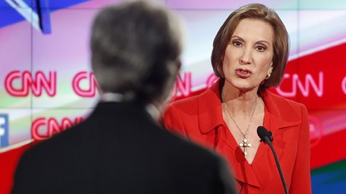 Fans blame #CarlyCurse after Fiorina roots for Iowa in the Rose Bowl