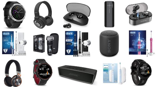 Fitbits, Samsung smartwatches, Oral-B electric toothbrushes, Ultimate Ears speakers, and more on sale for March 14 in the UK